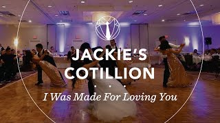jackies cotillion i was made for loving you by tori kelly
