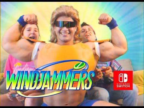 Windjammers - Nintendo Switch Reveal Trailer