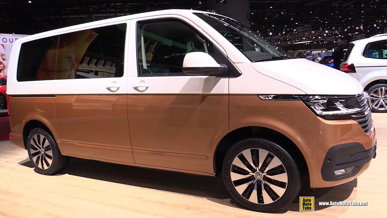 2020 Volkswagen Multivan 6 1 Exterior And Interior Walkaround 2019 Geneva Motor Show