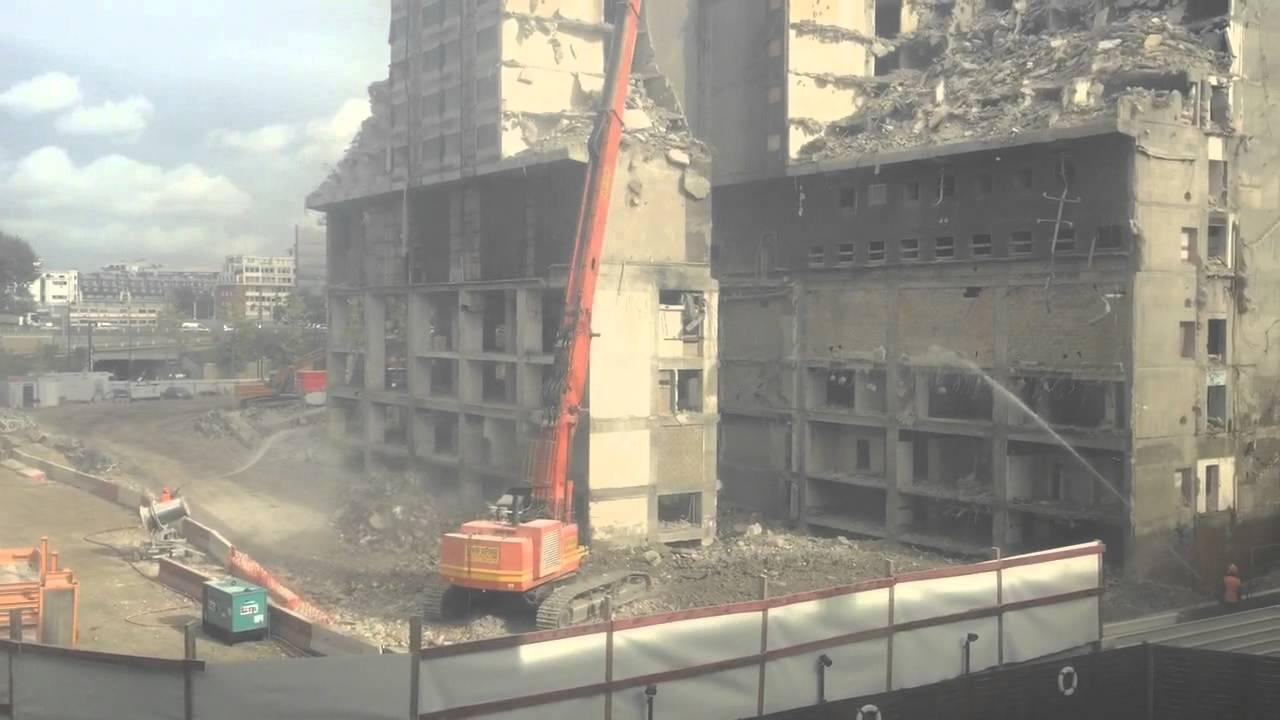 Destruction de l 39 h tel sofitel pullman de paris 15 youtube - Sofitel paris porte de sevres ...