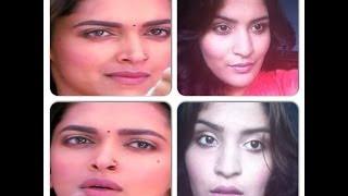 Deepika Padukone-Ramleela inspired look-rustic eyes and pale lips (using affordable makeup!)