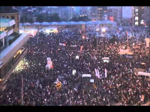 Manifestations à Taksim