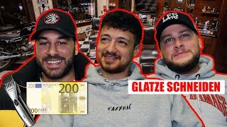 Für 200€ GLATZE SCHNEIDEN !! + unser GRÖSSTES PROJEKT !! |  FaxxenTV