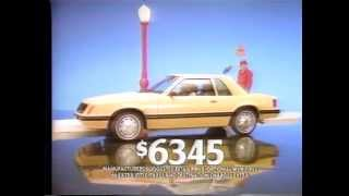 1982 Ford Mustang TV Ad Commercial  (4 of 4)