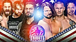 WWE Tribute To The Troops Dec14 2017 Highlights Classy wrestling