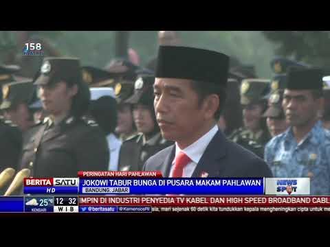 Jokowi Pimpin Upacara Hari Pahlawan di TMP Cikutra Bandung Mp3