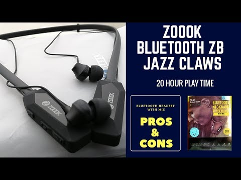 2018-zoook-jazz-claws-zb-bluetooth-headset-with-mic-|-pros-&-cons-|-unboxing-|