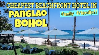 CHEAPEST BEACHFRONT HOTEL IN PANGLAO + PLACES TO SEE IN BOHOL | IRISH AYZ (PHILIPPINES)