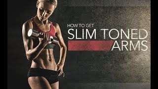 How To Get Slim & Toned Arms (THIS ACTUALLY WORKS!!)