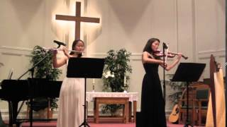 Canon in D by Pachelbel (Flute, Violin, and Piano)