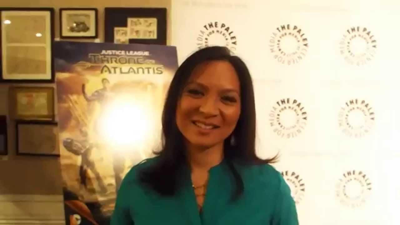 Justice League Throne Of Atlantis Sumalee Montano Mera Youtube