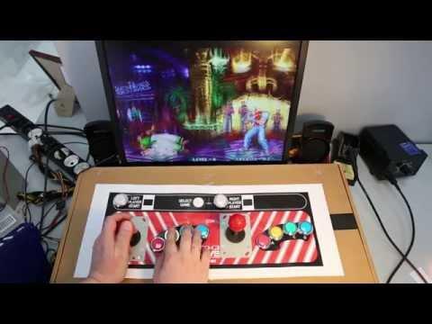 Аркадный игровой автомат своими руками - 5 серия финал прототипа