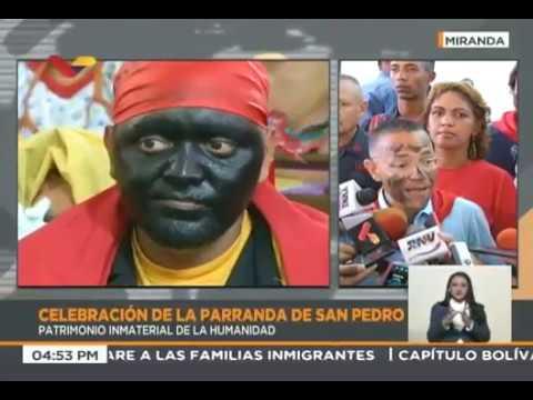 Celebración de la Parranda de San Pedro 2018 en Guatire, reseña de VTV