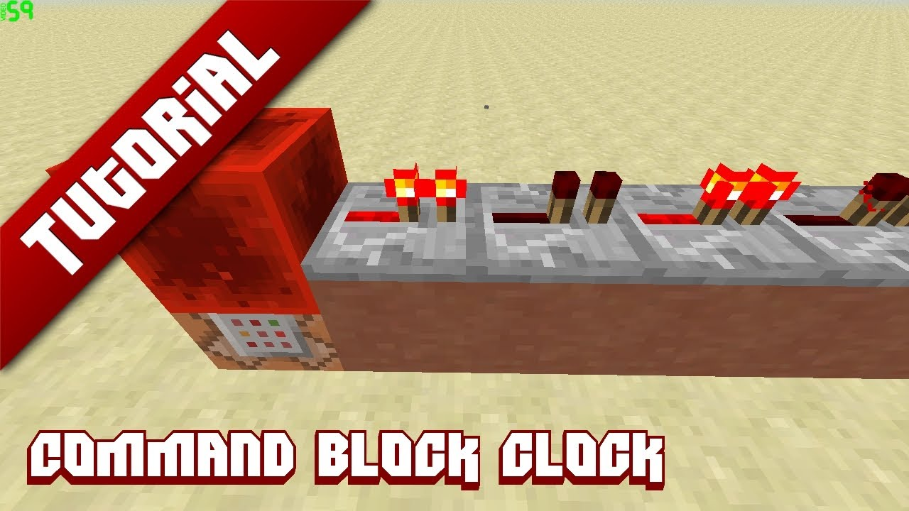 minecraft how to make a clock