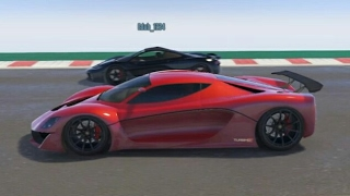 GTA 5 Top Speed Drag Race (T20 vs. Turismo R)