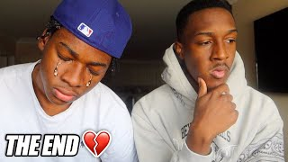 Me & My Little Brother are SEPARATING FOR LIFE... *WHY I BEEN GONE*