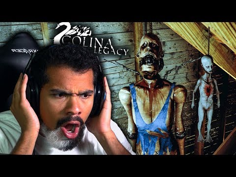 THIS NEW HORROR GAME HAS ME EXCITED!! | Colina: Legacy - Part 1