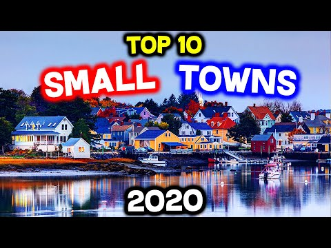 Top 10 BEST Small Towns to Live in America for 2020