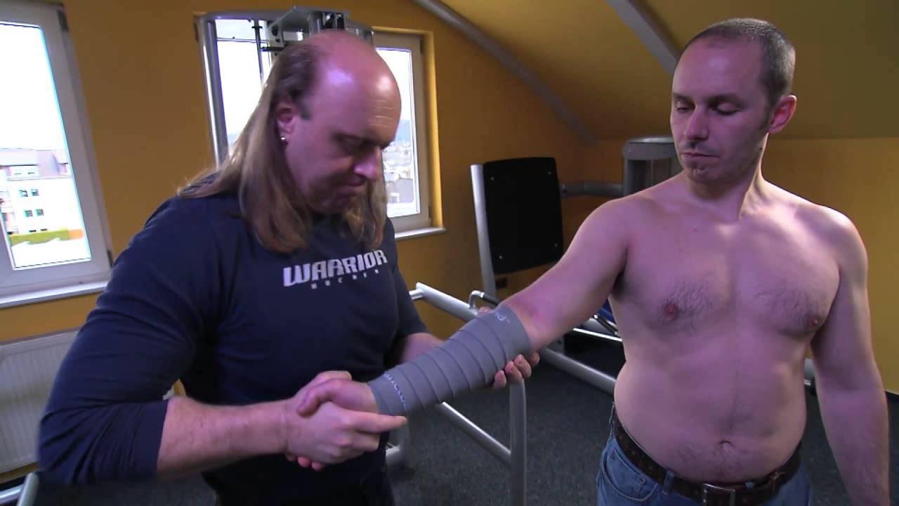 Sven Kruse flossing unterarm flektorengruppe nach dem easyflossing konzept