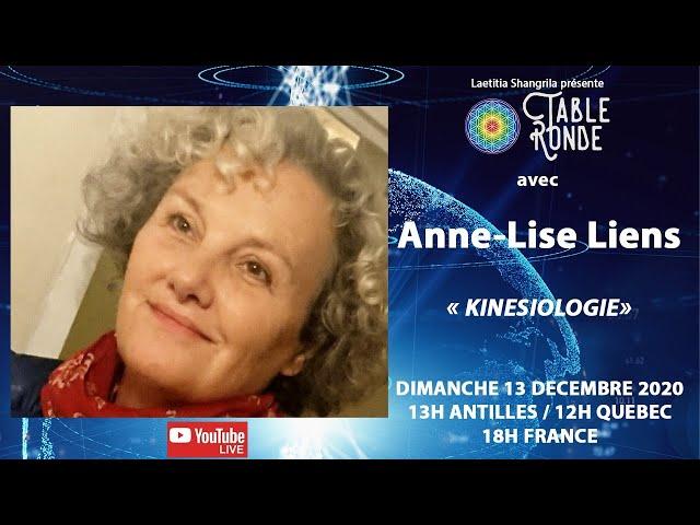 Kinésiologie avec Anne-Lise Liens- Table Ronde
