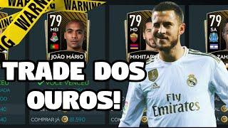 TRADE DOS OUROS! |FIFA MOBILE 20