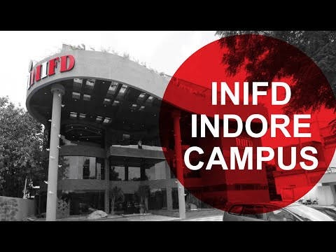 INIFD Indore: Biggest Campus of INIFD!