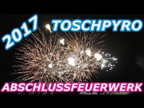 TOSCHPYRO Abschlussfeuerwerk 2017 | Kat. 4