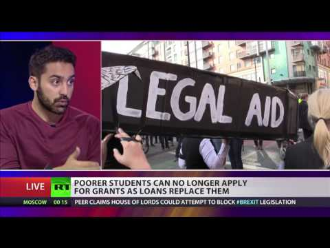 Ali Milani, NUS, on scrapping of student grants