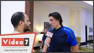 مدرب الوحدة الإماراتى: أحترم الأهلى ونسعى للفوز بالبطولة العربية
