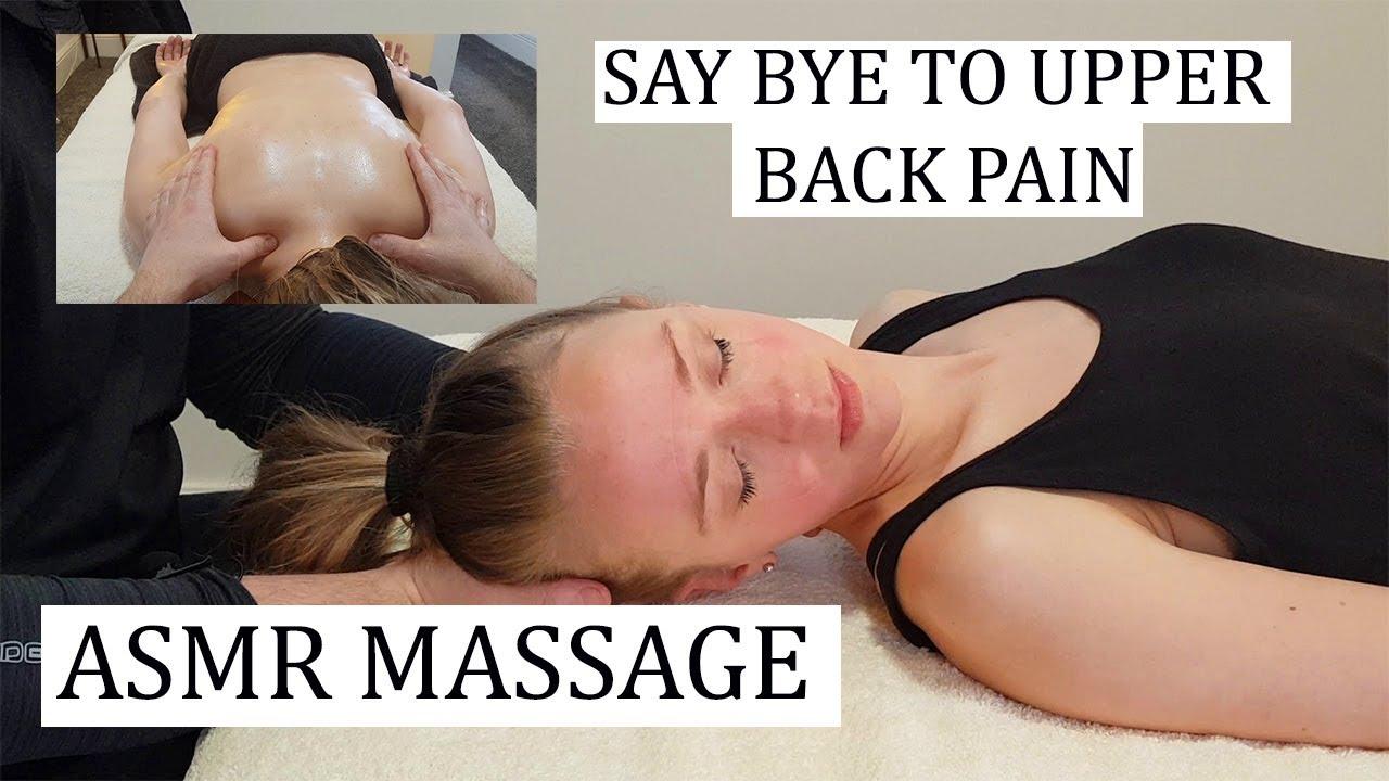 [ASMR] Massage - Say bye to Upper back pain