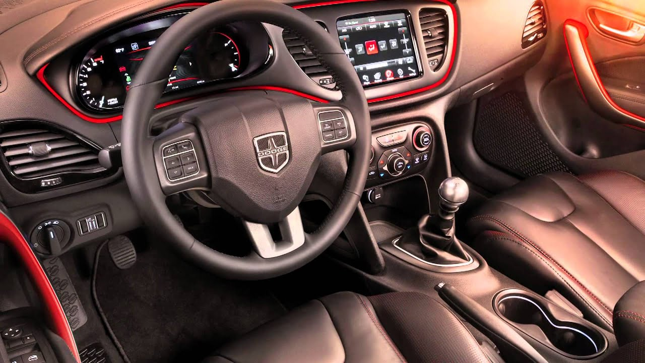 2013 Dodge Dart Interior Design With Ryan Nagode Youtube