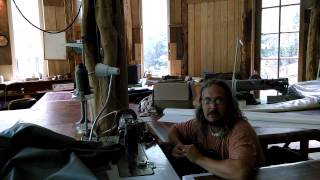 (Yurt & Kurt) Sewing Mongolian Teepees
