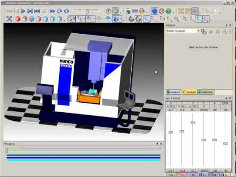 SURFCAM Tutorial -Machine Simulation: Analysis, Part 1