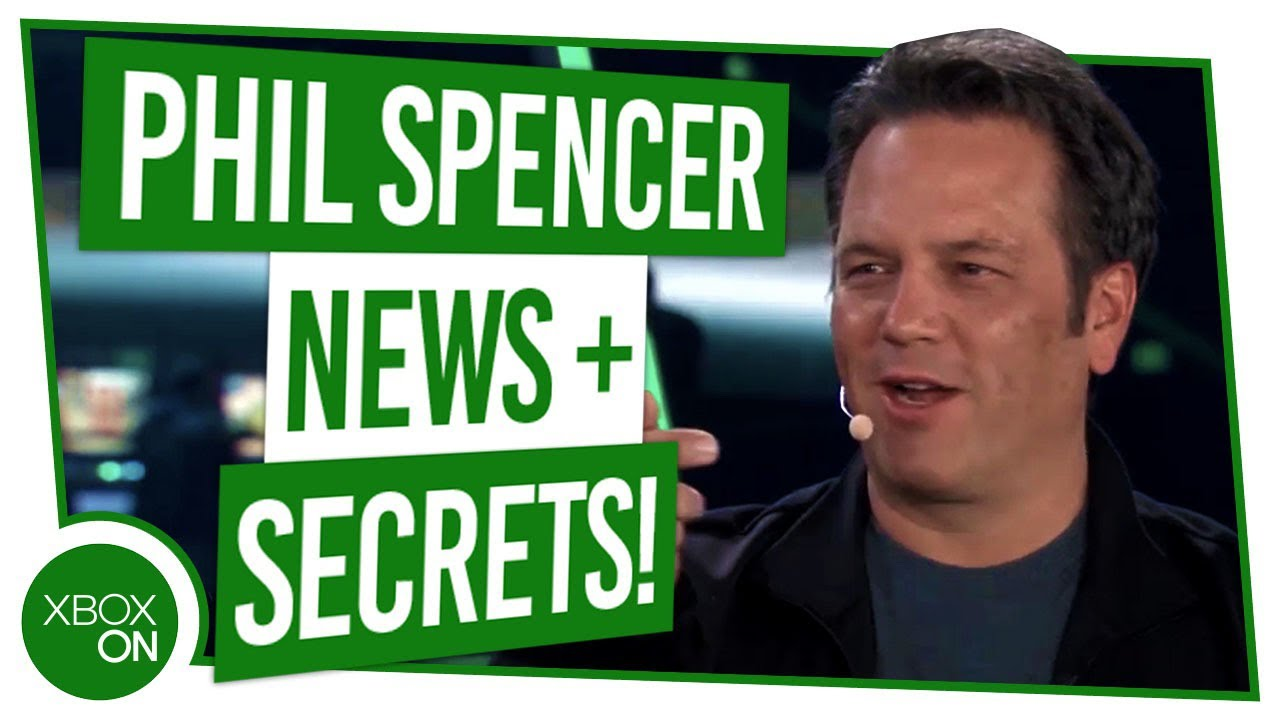 Phil Spencer spricht ALLES über Xbox, PlayStation, Gaming, E3 2019 Secrets & MORE + video