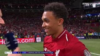 quotI39m just a normal lad from Liverpool whose dreams came truequot Trent Alexander-Arnold interview
