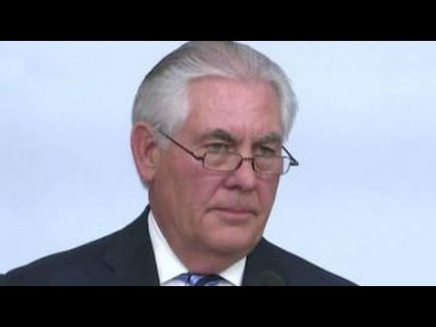 Tillerson uses tough talk on North Korea