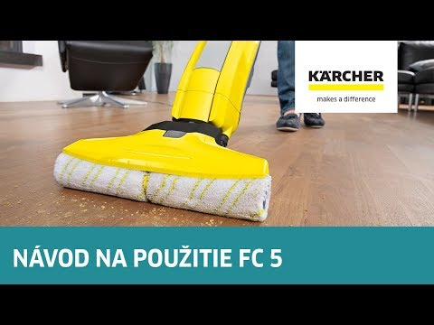 Kärcher Radí - Návod Na Použitie FC 5