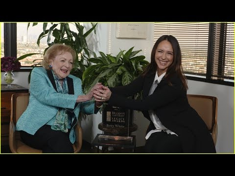Betty White Receives a Legacy Award from Jennifer Love Hewitt