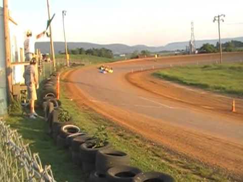 6-9-2012 (JR Gold) Heat Race,  Cove Valley Speedway