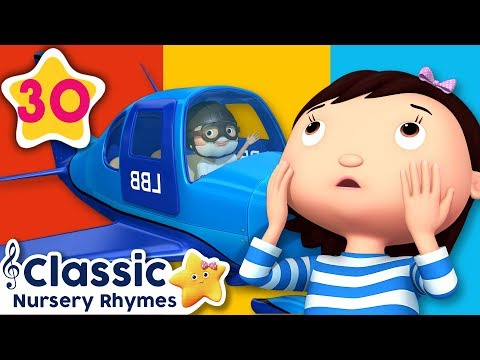 Color Planes | +More Vehicle Songs | Little Baby Bum | Nursery Rhymes