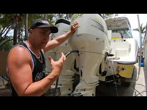 Flushing Outboards Motor Made Easy