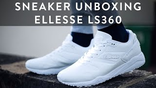 Ellesse LS360 Sneaker Unboxing   Styling   The New Collections   Llomotes
