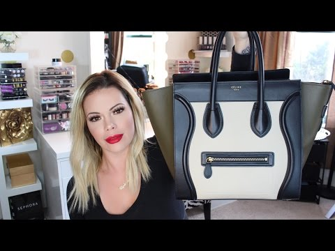 What's In My Bag | Celine Mini Luggage