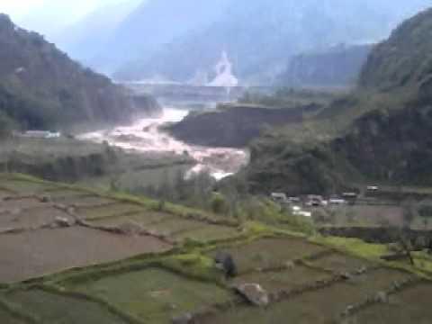 pokhara flood(live from kharapani)
