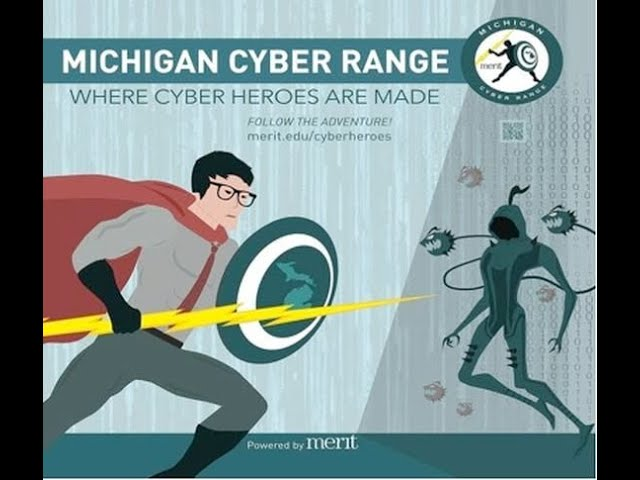 Merit Network CISO Talks About Governor's High School Cyber Challenge