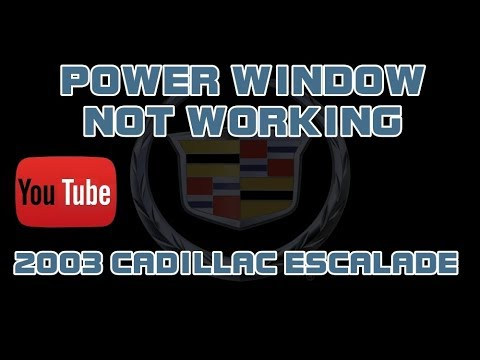 ⭐ 2003 Cadillac Escalade EXT - Driver Power Window Not Working