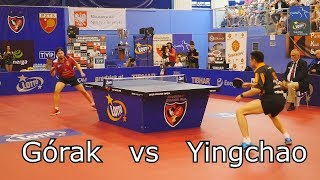 Daniel Górak vs Hou Yingchao | Table Tennis