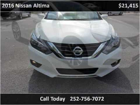 2016 Nissan Altima Used Cars Greenville NC