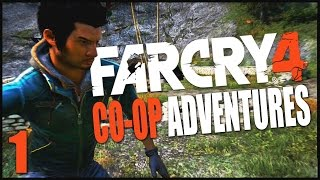 Far Cry 4 Co-op Gameplay Adventures #1 - MASTERS OF STEALTH
