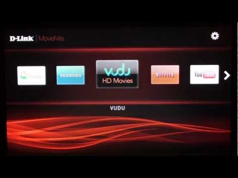 D-Link MovieNite Streaming Media Player: Walkthrough